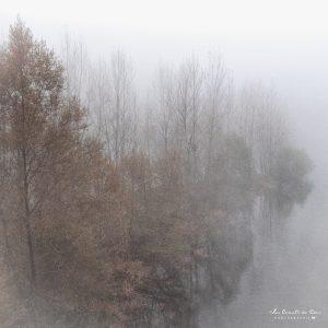 Brume sur la Dordogne