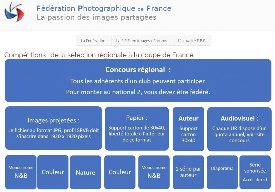 Concours Photo FPF