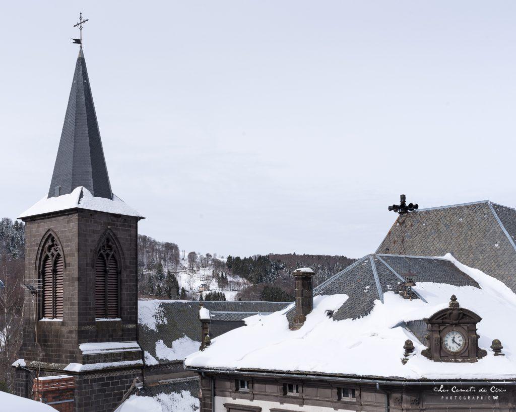 Le Mont Dore sous la neige