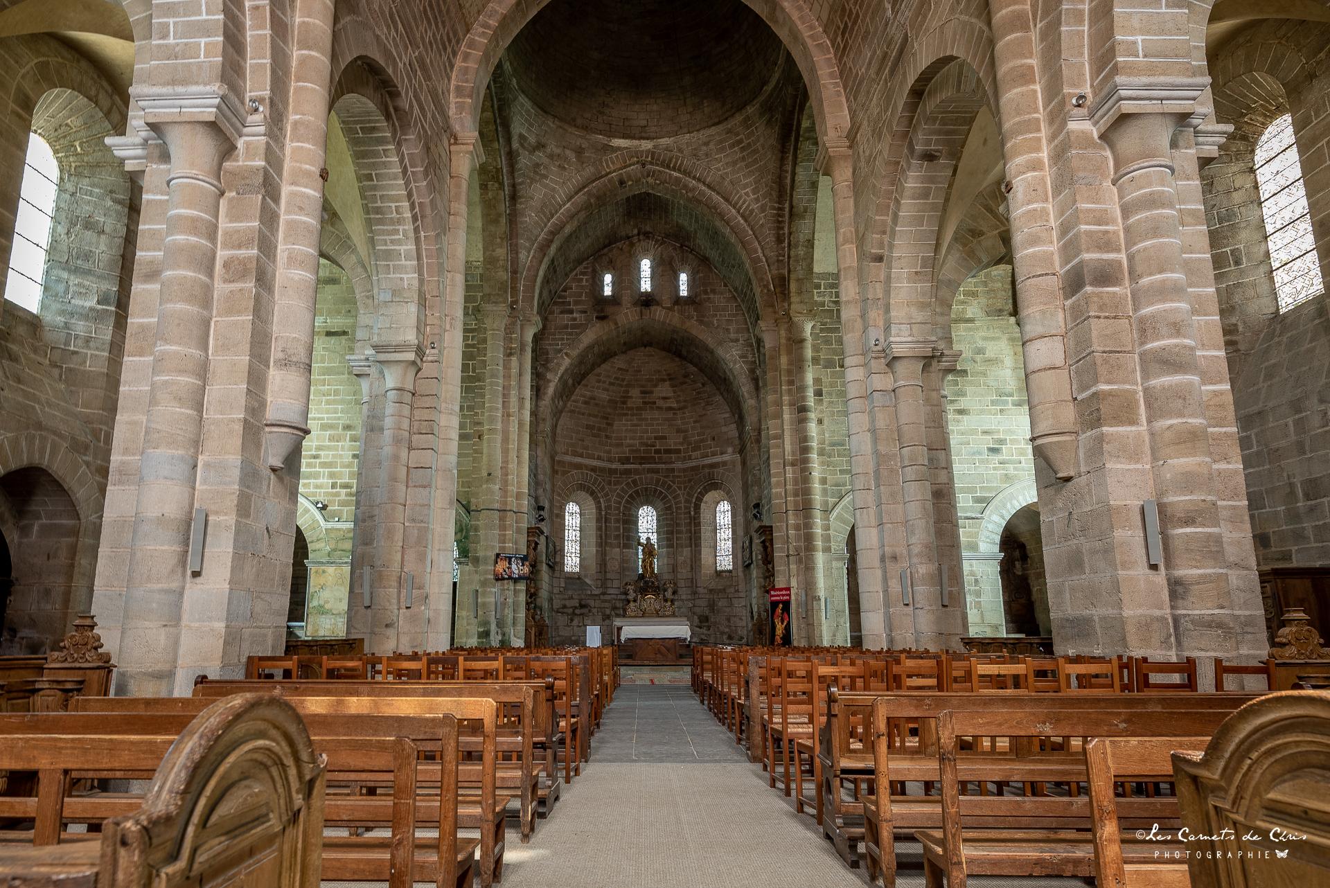 l'église de l'abbaye d'aubazine